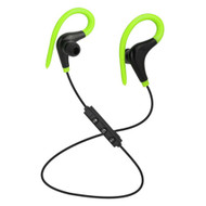 *SALE* Bluetooth V4.1 Wireless In-Ear Earhook Sport Headphones with Mic - Green