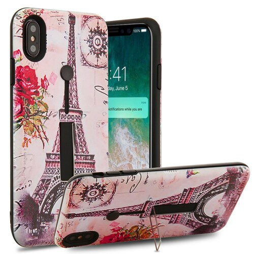 Finger Loop Case With Kickstand For Iphone Xs Max Paris