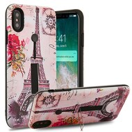 Finger Loop Case with Kickstand for iPhone XS Max - Paris Memory