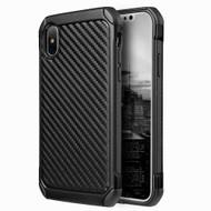 Tough Anti-Shock Hybrid Case for iPhone XS Max - Carbon Fiber