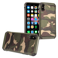Tough Anti-Shock Hybrid Case for iPhone XS Max - Camouflage