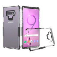 Transparent Protective Bumper Case for Samsung Galaxy Note 9 - Black