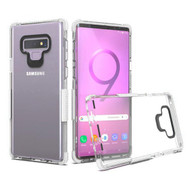 Transparent Protective Bumper Case for Samsung Galaxy Note 9 - White
