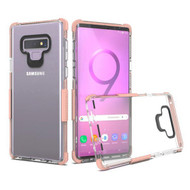 Transparent Protective Bumper Case for Samsung Galaxy Note 9 - Rose Gold