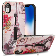 Finger Loop Case with Kickstand for iPhone XR - Paris Memory