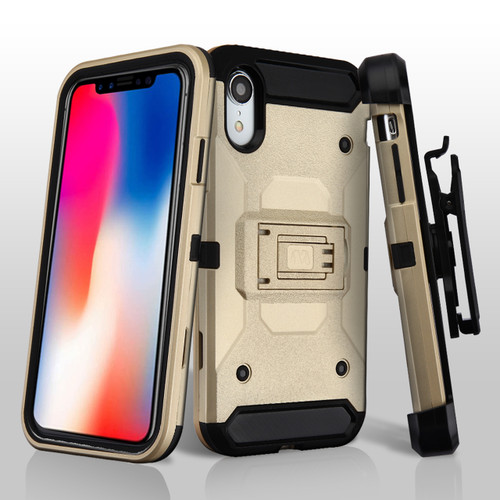 Sale 3 In 1 Kinetic Hybrid Armor Case With Holster And