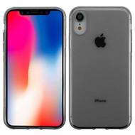 TPU Flexi Shield Gel Case for iPhone XR - Smoke