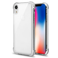 Tough Snap-on Crystal Fusion Case for iPhone XR - Clear