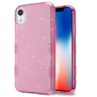 Tuff Full Glitter Hybrid Protective Case for iPhone XR - Pink
