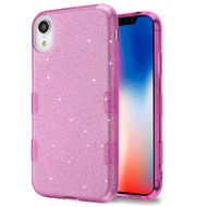Tuff Full Glitter Hybrid Protective Case for iPhone XR - Purple