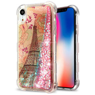 Tuff Lite Quicksand Case for iPhone XR - Eiffel Tower