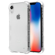 TUFF Klarity Electroplating Transparent Anti-Shock TPU Case for iPhone XR - Clear