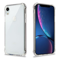 Ultra Hybrid Shock Absorbent Crystal Case for iPhone XR - Clear