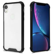 Ultra Hybrid Shock Absorbent Crystal Case for iPhone XR - Black