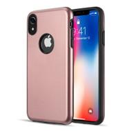 Slim Armor Hybrid Case for iPhone XR - Rose Gold