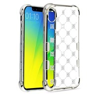 TUFF Klarity Electroplating Transparent Anti-Shock TPU Diamond Case for iPhone XS Max - Cosmos Sparks