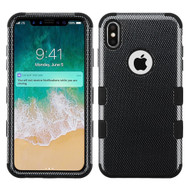 Military Grade Certified TUFF Hybrid Armor Case for iPhone XS Max - Carbon