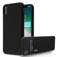 Under Cover Card Slot Case for iPhone XS Max - Black