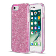 Glitter Edition Ultimate Deluxe Hybrid Case for iPhone 8 / 7 / 6S / 6 - Pink