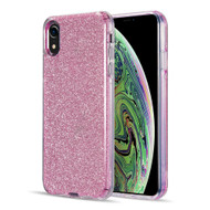Glitter Edition Ultimate Deluxe Hybrid Case for iPhone XR - Pink