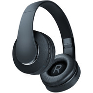 HyperGear V80 Bluetooth V4.2 Wireless On-Ear Design Headphones - Black