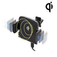 Robotic Qi Wireless 10W Fast Charging Pad Air Vent Mount Charger
