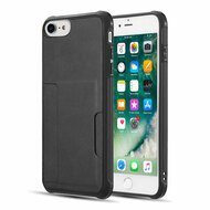Infinity Series Executive TPU Case with Card Slot for iPhone 8 / 7 / 6S / 6 - Black