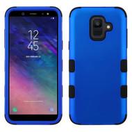 Military Grade Certified TUFF Hybrid Armor Case for Samsung Galaxy A6 (2018) - Blue
