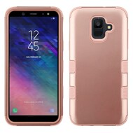 Military Grade Certified TUFF Hybrid Armor Case for Samsung Galaxy A6 (2018) - Rose Gold