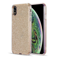 Glitter Edition Ultimate Deluxe Hybrid Case for iPhone XR - Gold