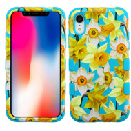 Military Grade Certified TUFF Hybrid Armor Case for iPhone XR - Spring Daffodils