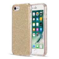 Glitter Edition Ultimate Deluxe Hybrid Case for iPhone 8 / 7 / 6S / 6 - Gold
