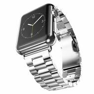 *SALE* Classic Stainless Steel Bracelet Watch Band with Butterfly Lock for Apple Watch 44mm / 42mm - Silver