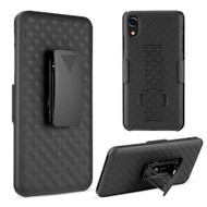 Kickstand Protective Case and Holster for iPhone XR - Black