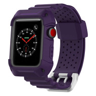 *SALE* Rugged Protective Case with Strap Band for Apple Watch 42mm - Purple