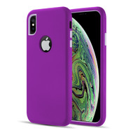 Dual Max Series Hybrid Armor Case for iPhone XS / X - Purple Lavender