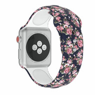 *Sale* High Fashion Sport Silicone Watch Band for Apple Watch 44mm / 42mm - Roses