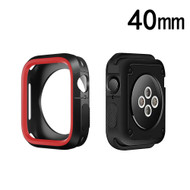 Performance Sports Bumper Case for Apple Watch 40mm Series 4 - Red Black