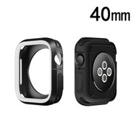 Performance Sports Bumper Case for Apple Watch 40mm Series 4 - White Black