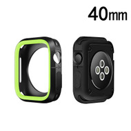 Performance Sports Bumper Case for Apple Watch 40mm Series 4 - Green Black