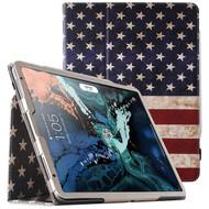 *Sale* Leather Portfolio Smart Case for iPad Pro 11 inch - American Flag