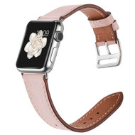 *Sale* Genuine Leather Watch Band for Apple Watch 40mm / 38mm - Pink