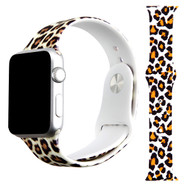 High Fashion Sport Silicone Watch Band for Apple Watch 40mm / 38mm - Leopard