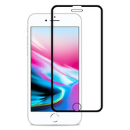 Edge to Edge Full Adhesive Tempered Glass Screen Protector for iPhone 8 / 7 / 6S / 6 - Black