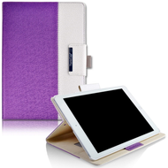 *SALE* Book-Style 360 Degree Smart Rotating Leather Case for iPad Air 3 / iPad Pro 10.5 inch - Purple