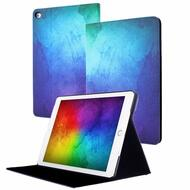 Book-Style Smart Leather Folio Case with Auto Sleep / Wake for iPad Mini 1 / 2 / 3 - Galaxy