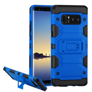 Military Grade Certified Storm Tank Hybrid Armor Case with Stand for Samsung Galaxy Note 8 - Blue