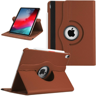360 Degree Smart Rotating Leather Case for iPad Pro 11 inch - Brown
