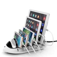 *SALE* 6 Port Universal Desktop Charger Dock USB Charging Station 51W 10.2A