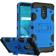 Military Grade Certified Storm Tank Hybrid Armor Case with Stand for LG Stylo 4 - Blue